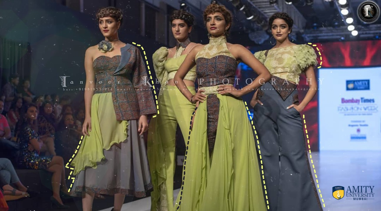 Amity Students Combining The Artistry Of Chikankari Ajrakh For Fashion Week Styleq Digital