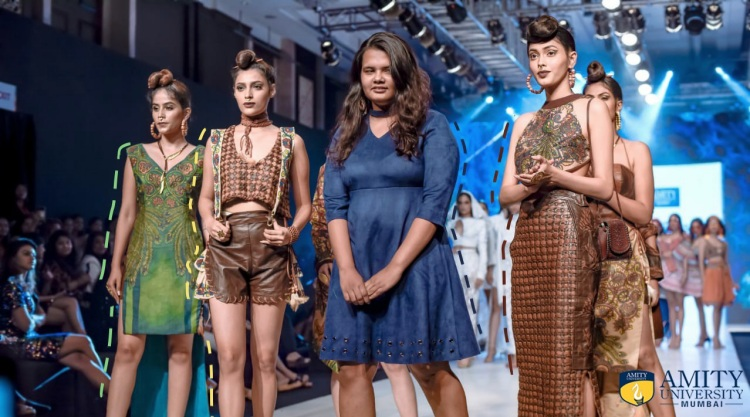 Amity Students Combining Heritage Indian Arts With Challenging Textures For Fashion Week Styleq Digital